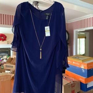 Navy style and Co  dress